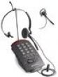 Фотография T20, телефонный аппарат с гарнитурой, 2 линии