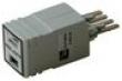 Фотография BroadWire ADSL сплиттер на 1 линию для плинтов типоряда 2, POTS,