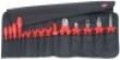 Фотография Планшет для инструмента мягкий, 15 предм., с инструментами элект