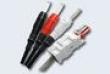 Контрольный шнур 2/6 для односторонн. съема сигнала, 3-х пол. ,