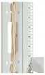 Фотография Вертикальный кабельный органайзер для стойки внешний с окнами, ш