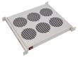 """Фотография Модуль вентиляторный 19"""" 1U, 6 вентилятора, с термодатчиком регу"""