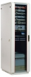 Фотография Шкаф телекоммуникационный напольный 22U (600х600) дверь стекло