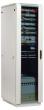 Фотография Шкаф телекоммуникационный напольный 27U (600х600) дверь стекло