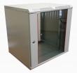 Фотография Шкаф телекоммуникационный настенный 6U (600x480) дверь стекло